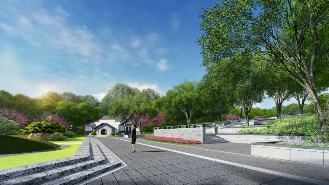 韶州公园西入口效果图.